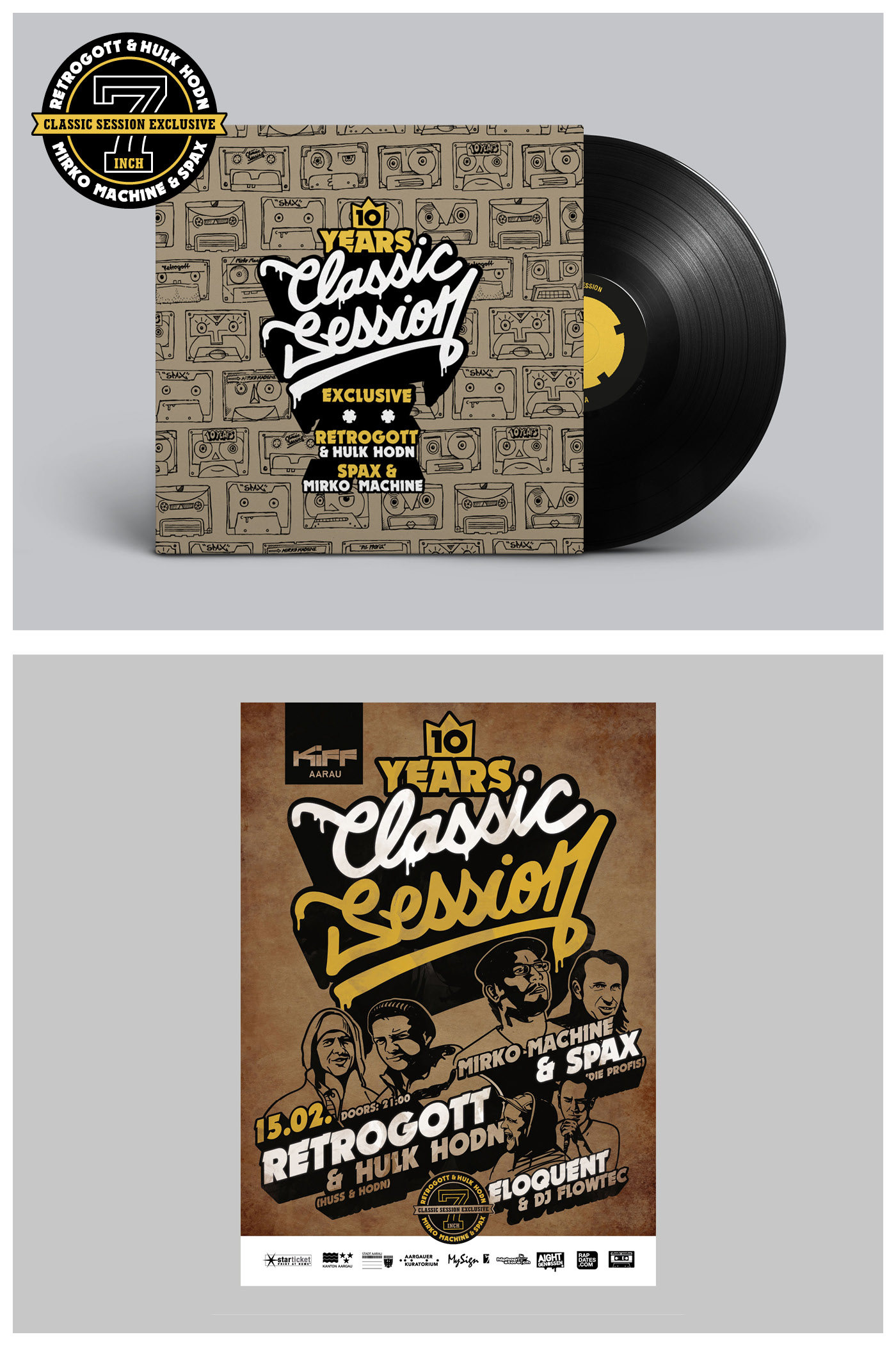Classic Session Posterdesign Party