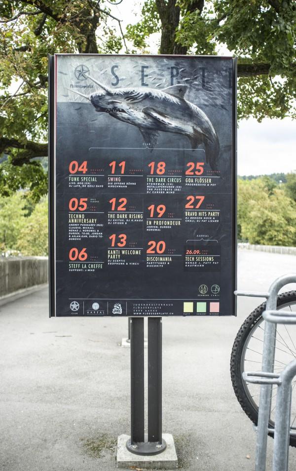 flösserplatz monatsprogramm september