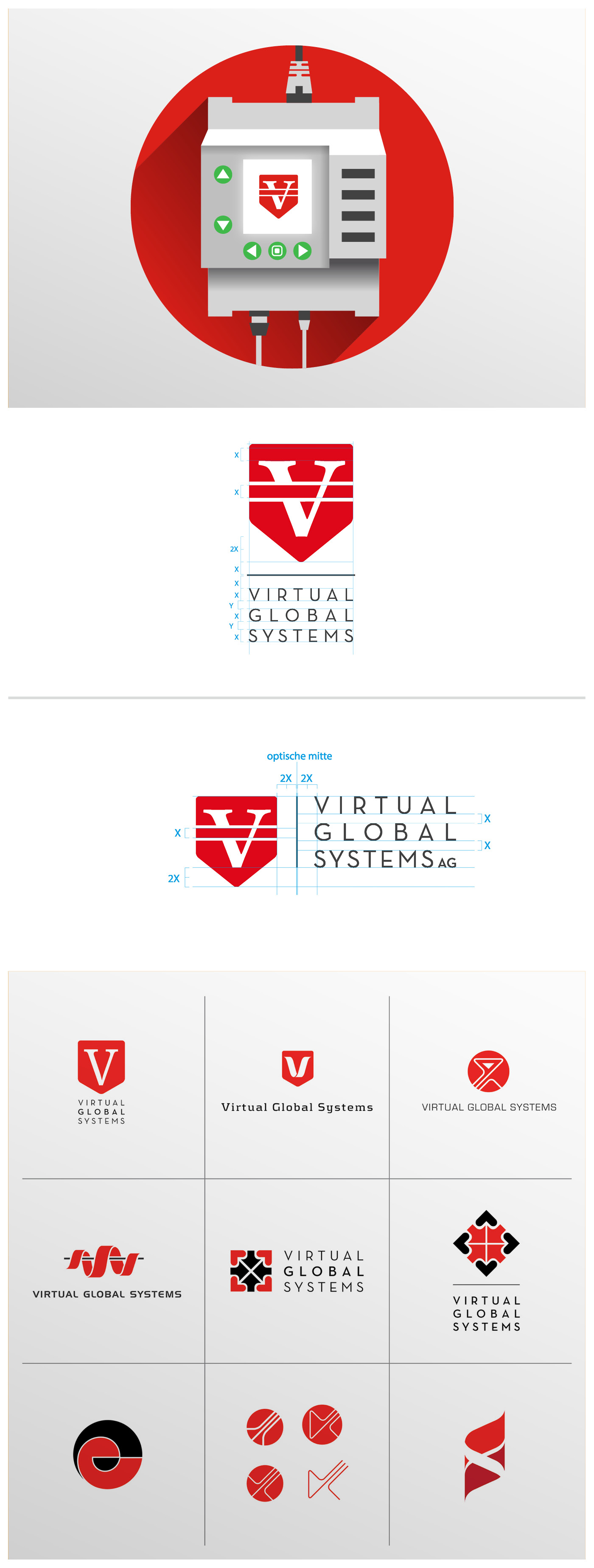 Corporate design Virtual Global Systems
